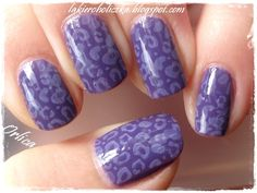 Purple wildness (Nail Art)