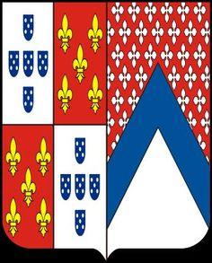 Albuquerque de Cavalcanti. Brasão de Armas  da família