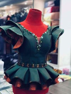 Peplum ankara skirt and blouse: 25 Trending peplum ankara skirt and blouse African Fashion Ankara, Latest African Fashion Dresses, African Print Fashion, Lace Dress Styles, African Lace Dresses, African Attire, African Wear, Ankara Skirt And Blouse, Ankara Dress