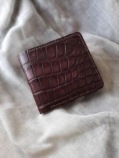 Check out this item in my Etsy shop https://www.etsy.com/listing/567729588/classic-wallet-made-of-genuine-alligator