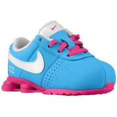 3a69f00d1e22 Nike Shox Deliver - Girls  Toddler - Vivid Blue White Vivid Pink