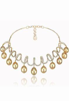 - Collier Chopard : collier perles - Collier Red Carpet Chopard