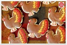 Turkey Day Cookies #thanksgiving
