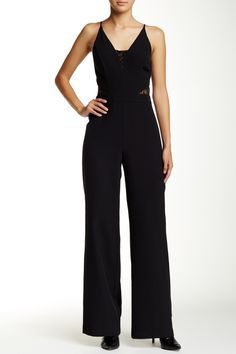 Lace Detail Jumpsuit by Whyte Eyelash on @nordstrom_rack