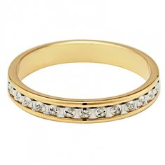 Gents Yellow and White gold Wedding Ring. This court ring of yellow gold has a white gold diamond cut centre, adding shine to the already gorgeous ring. White Gold Wedding Rings, White Gold Diamonds, Black Friday, Diamond Cuts, Yellow, Search, Bracelets, Jewelry, Jewlery