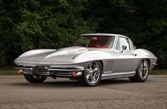 Harold Stamey has customized many hot rods, including this 1966 Chevrolet Corvette Sting Ray which reflects his personality and speaks to his history. 1963 Corvette Stingray, Old Corvette, 1965 Corvette, Classic Corvette, Chevrolet Corvette, Corvette Summer, Pontiac Gto, Chevy Muscle Cars, Garage