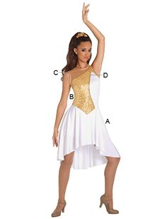 Also available in black and gold, but it's $95, not including the cost of capri tights...
