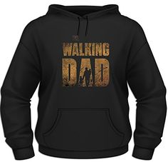 The Walking Dad Hoodie (BLACK, S)