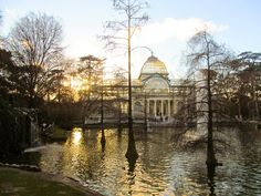 Crystal palace in Madrid, Retiro Park