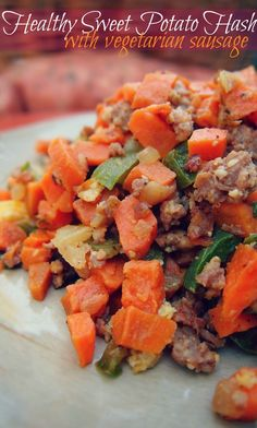 Breakfast Sweet Potato Hash | Recipe | Sweet Potato Hash, Potato Hash ...