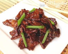 PALEO MONGOLIAN BEEF  http://recipesjust4u.com/paleo-mongolian-beef/