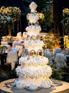 pastel de boda de famosos