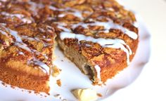Grain-Free Apple Spice Coffee Cake. #GlutenFree, #GrainFree, #Paleo, #SCD