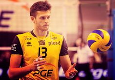 Michal Winiarski. Polish Volleyball Player.