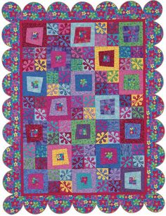 """""""Flower Power"""" from """"Fresh and Fabulous Quilts"""""""