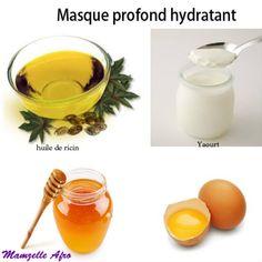 recette de masque hydratant Bonjour, Voici la troisième technique d'hydratation de nos cheveux: le masque. Les soins profonds hydratants ont presque les mêmes propriétés que les bains d'huiles sauf qu'ils contiennent d'autres émollients et des agents...