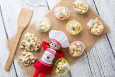 Mrs Claus' Kitchen: Frosted Bunny Bites | The Elf on the Shelf Blog | Easter Recipes