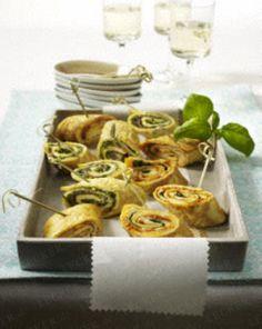Das Rezept für Gefüllte Omelett-Röllchen und weitere kostenlose Rezepte auf LECKER.de