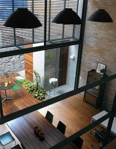 Loft home design design Casa Loft, Loft House, Loft Spaces, Living Spaces, Open Spaces, Living Room, Modern Interior Design, Interior Design Inspiration, Interior Exterior