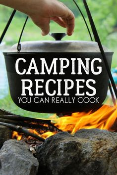 Fun camp cooking dishes are a specifically fantastic activity for family camp outs. On a family outdoor camping trip, enjoyable camp cooking recipes can be attempted at the end of a day while you are enjoying the campfire. Best Camping Stove, Camping Car, Camping With Kids, Camping Meals, Family Camping, Camping Hacks, Kids Meals, Camping Dishes, Camping Cooking