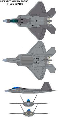 Lockheed Martin F-22A by bagera3005.deviantart.com on @DeviantArt