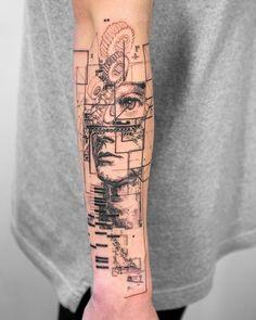 New tattoo forearm abstract tatoo Ideas Forearm Tattoos, Life Tattoos, New Tattoos, Body Art Tattoos, Sleeve Tattoos, Geometric Tattoo Forearm, Tatoos, Small Geometric Tattoo, Future Tattoos