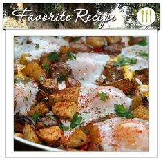 The first official day of winter isn't until December 21st, but we're already wrapped up in blankets and donning our thickest socks. The only thing that's missing is a nice warm meal. Thankfully, we have just the thing! Our Potato, Carmelized Onion, & Roasted Red Pepper Hash with Baked Eggs & UP Olive Oil recipe is one you need to try. Hearty, satisfying Yukon potatoes, eggs, and Extra Virgin Olive Oil... mmm, delicious!