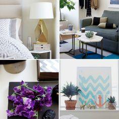 Pequeno, mas sem aperto. Veja: http://www.casadevalentina.com.br/blog/materia/quarto--sala-sem-aperto.html #decor #decoracao #home #house #casa #small #pequena #interior #design #ideia #idea #casadevalentina