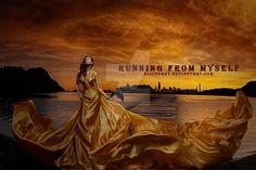 Running From Myself by SlichoArt