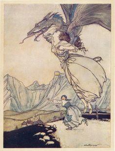 Arthur Rackham, Der Märchenwald, 1919