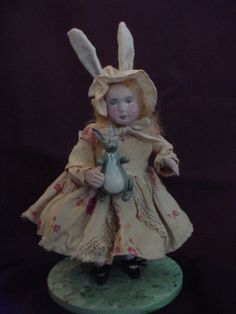 Adorable little Easter Bunny Girl by Norma DeCamp (April 2011)