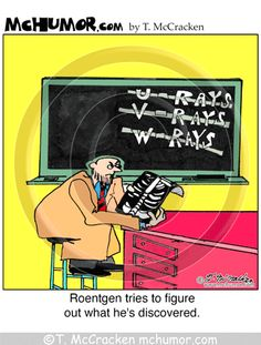 Roentgen tries to figure out what he's discovered. Now learn why he named them x-rays: http://www.excaliburmed.com/blog/bid/130993/teleradiology-tales-ever-wonder-why-they-are-called-x-rays