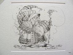 James Christensen - Royal Processional Remarque | by Hidden Ridge Gallery