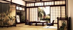 Image result for traditional japanese room