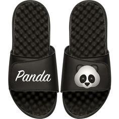 3ba11954f99333 Islide Panda Emoji Slide Sandal ( 55) ❤ liked on Polyvore featuring men s  fashion