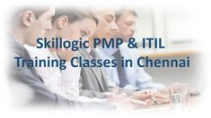 Here are the things to know about the upcoming PMP and ITIL Training Classroom and online training classes that are scheduled in chennai location.