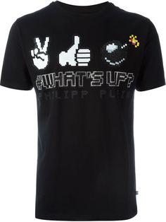 PHILIPP PLEIN 'What'S Up' T-Shirt. #philippplein #cloth #t-shirt
