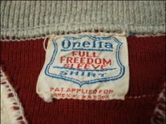 Oneita Shirt Brand, Two Tone Double V-Rib Freedom Sleeve Sweatshirt, Vintage Tags, Drink Sleeves, Freedom, Mens Fashion, Sweatshirts, Tees, Liberty, Moda Masculina, Political Freedom