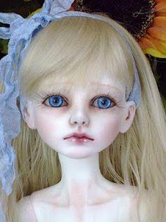 Hauntingly beautiful Alice doll