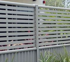 Privacy Screens Goodbye neighbours with Aluminium Slat Privacy screens Made to measure Privacy Screen Outdoor, Privacy Screens, Screening Ideas, Decking, Fences, Gardening, Google Search, House, Image