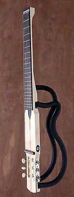 Silent Nylon String Acoustic Electric Travel Guitar Classical Full Size Traveler