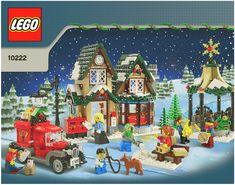 2011 Lego Town - Winter Village Post Office [Lego 10222]