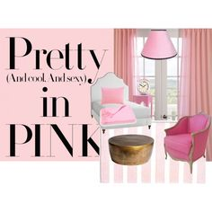 """""""Pretty in Pink"""" by terricumming on Polyvore"""