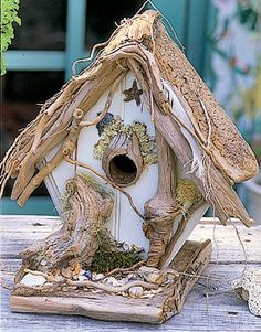 Домики для птиц на вашей даче: 35 сумасшедших идей для скворечника. Фото | Идеи для дачи