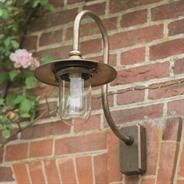 A timeless classic design - this solid #brass #outdoor #light is a perfect feature that finish's your garden in style ...Granary Outdoor Light made by Jim Lawrence