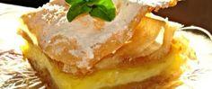 Jablečné řezy s pudinkem z listového těsta Mashed Potatoes, French Toast, Cooking Recipes, Pie, Cheese, Breakfast, Ethnic Recipes, Food, Whipped Potatoes