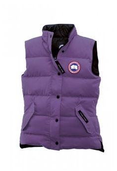 discount canada goose vest freestyle for women in berry
