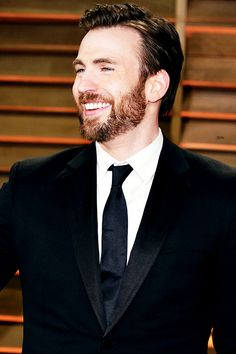 Chris Evans | Absolutely radiant <3<3<3 -B.R.