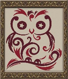 click here to view larger image of Starry Eyed Owl (chart)