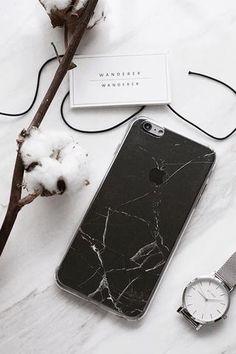 Black Marble Skin + Case iPhone , Apartment - Wanderer Wanderer, Wanderer Wanderer - 1